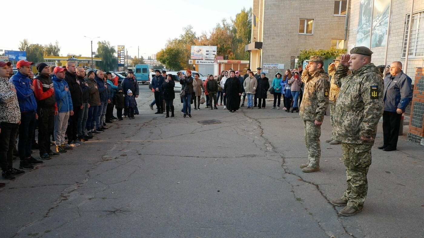 У Білій Церкві розпочався осінній призов на строкову військову службу, фото-1