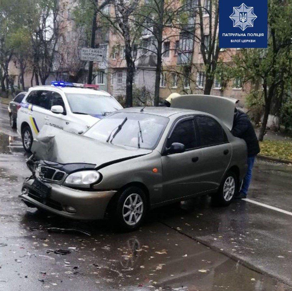 П'яний водій спровокував ДТП у Білій Церкві, фото-1