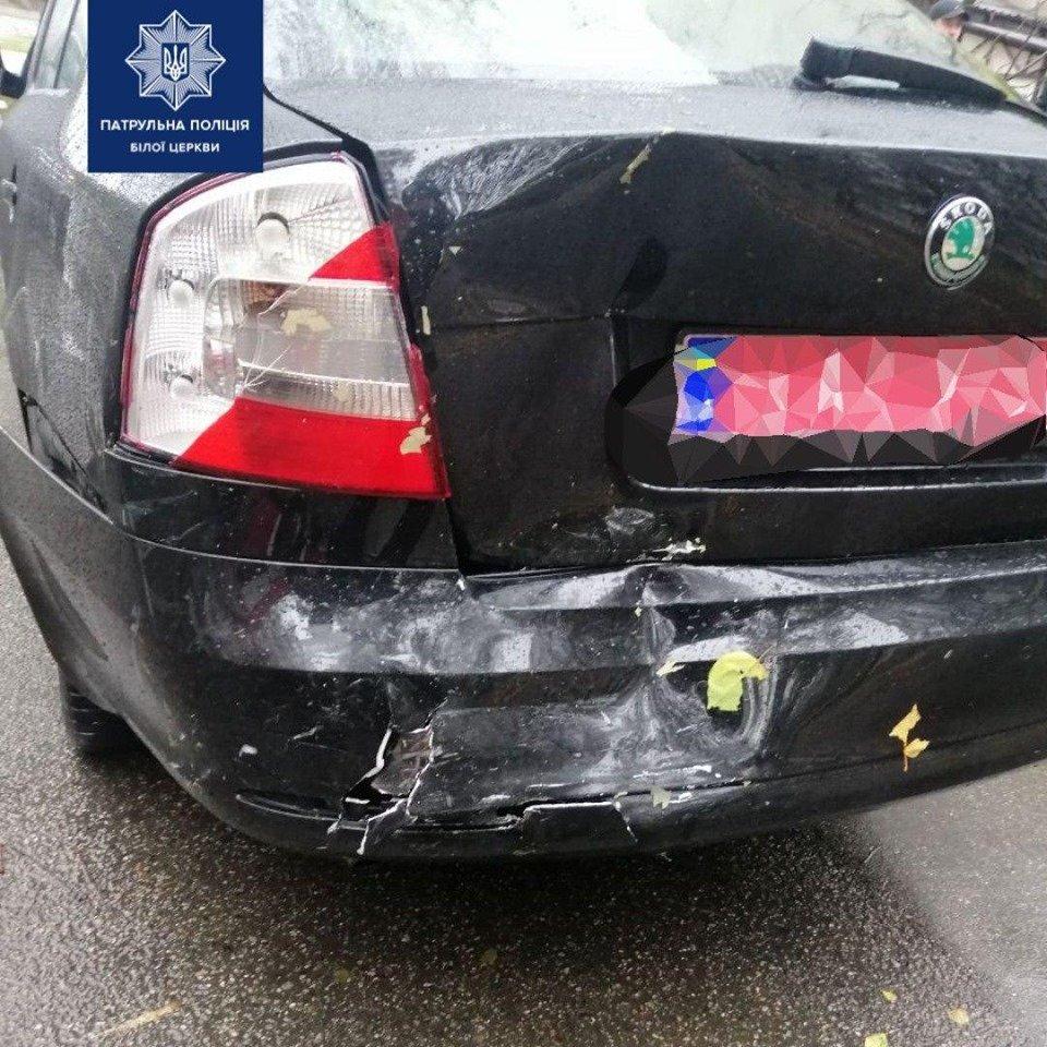 П'яний водій спровокував ДТП у Білій Церкві, фото-2