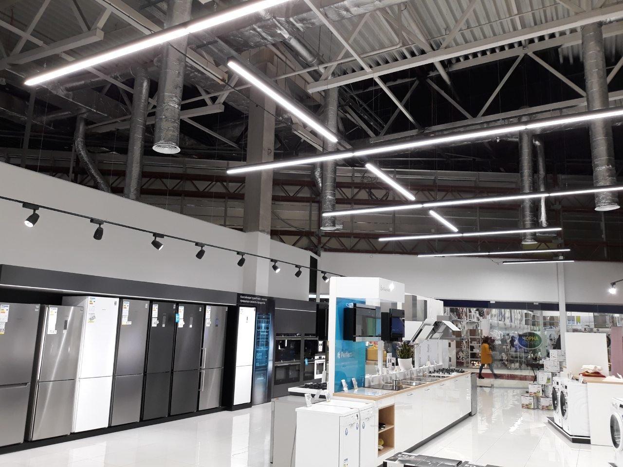 Освітлення в торговому залі супермаркета. Ідеї та поради, фото-4