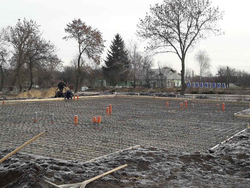 На Білоцерківщині у селі Іванівка розпочалося будівництво нової амбулаторії, фото-1