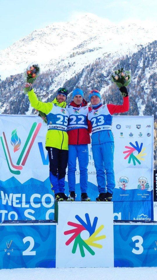 Наш білоцерківець, Павло Мандзюк виграв срібло на XIX зимових Дефлімпійських іграх в Італії., фото-13