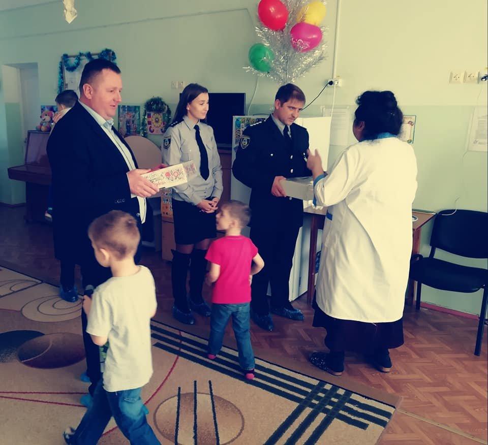 Білоцерківські поліціянти подарували свято дітлахам дитячого будинку «Малюк»., фото-10