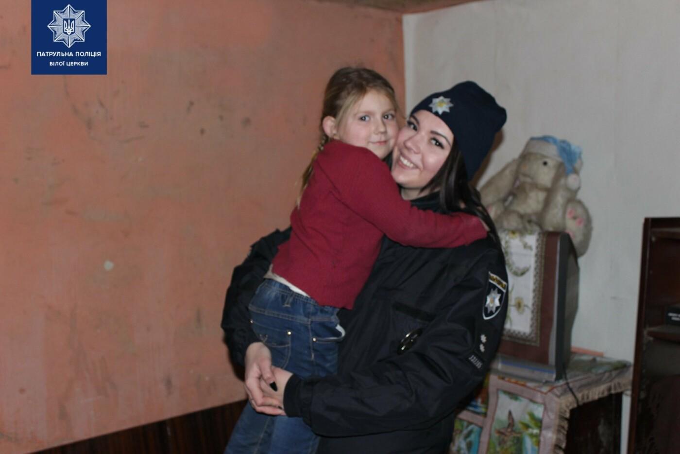 Білоцерківські патрульні та патрульний капелан привітали діток зі святами, фото-11