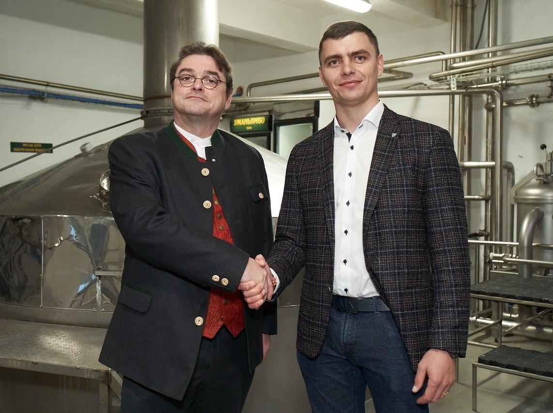 Доктор пивоваріння професор Герріт вперше відвідав Україну і поділився секретами з уманськими колегами, фото-1