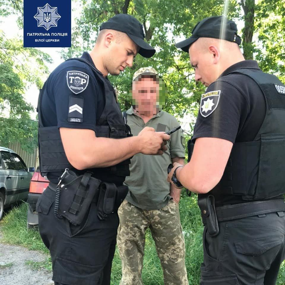 Білоцерківські патрульні виявили автомобіль-двійник, фото-3