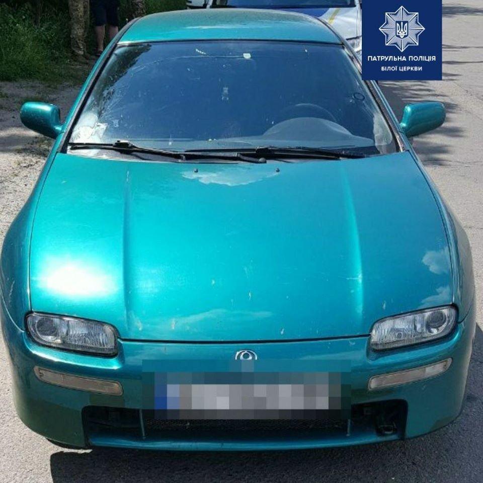 Білоцерківські патрульні виявили автомобіль-двійник, фото-1