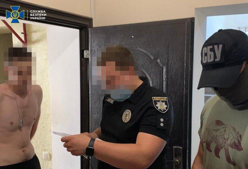 У Білій Церкві СБУ блокувала діяльність торгівців зброєю, фото-2