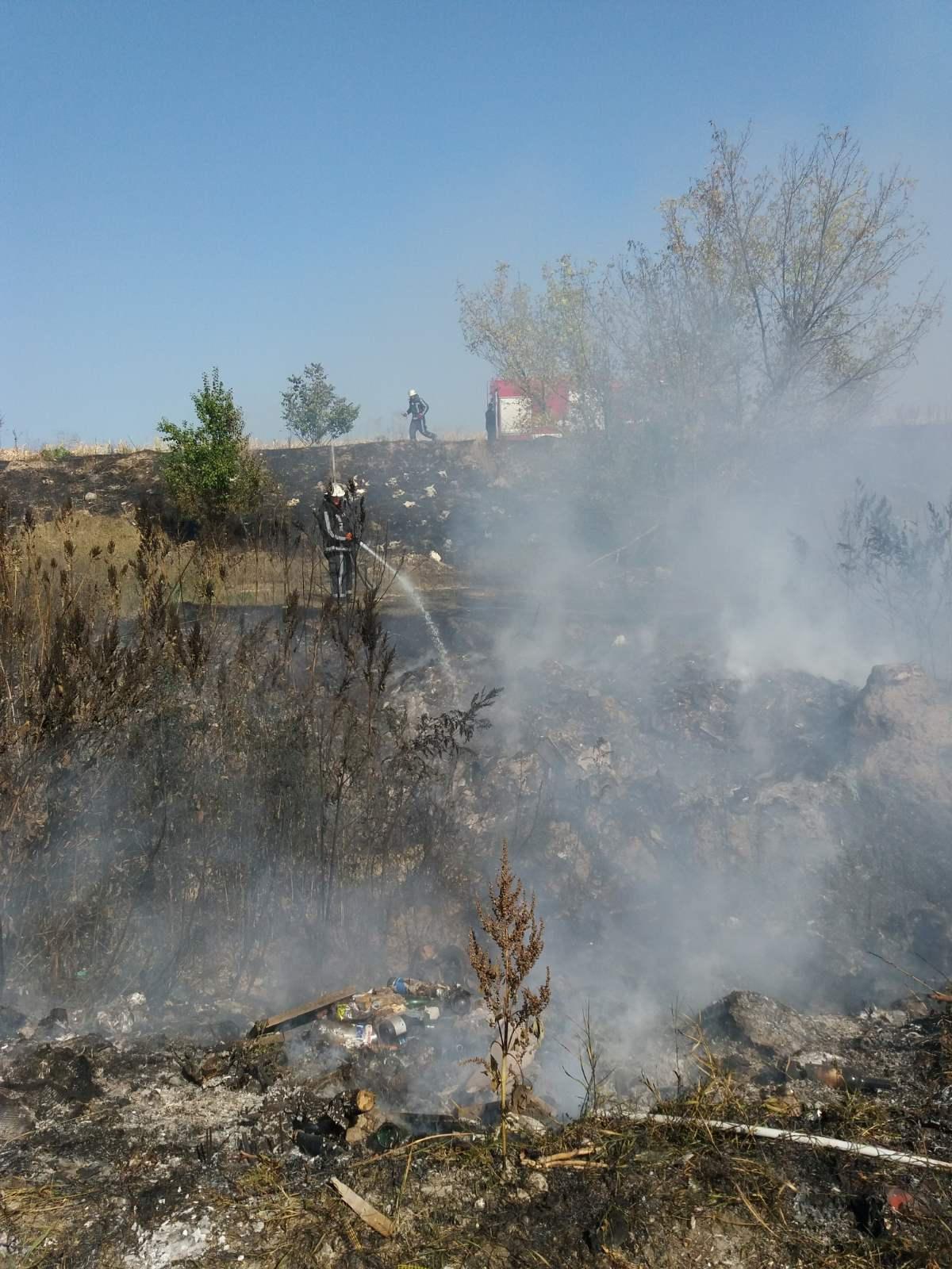 Біля Білої Церкви горіло стихійне сміттєзвалище, фото-2