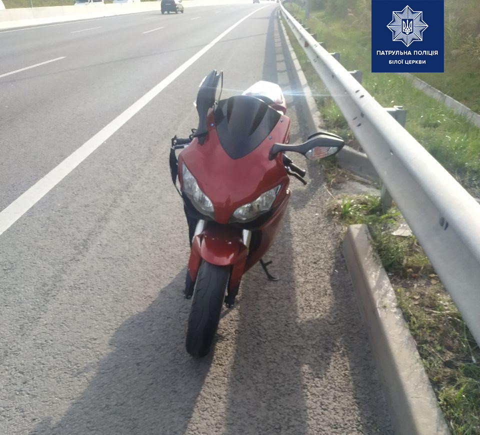 Білоцерківські патрульні виявили мотоцикл, що було викрадено в Італії ще у 2013 році, фото-2